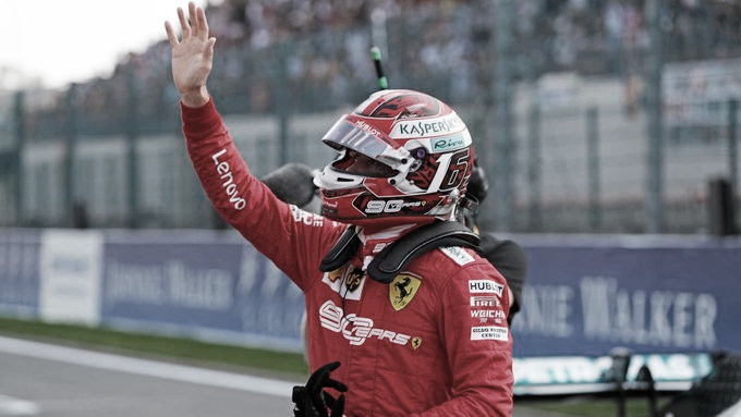 Leclerc se quedó con la pole en Spa Francorchamps