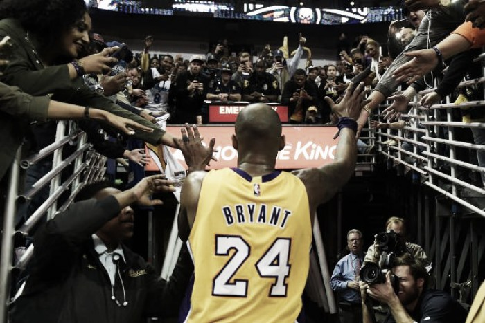 NBA: Mamba Out! Obrigado Kobe Bryant!