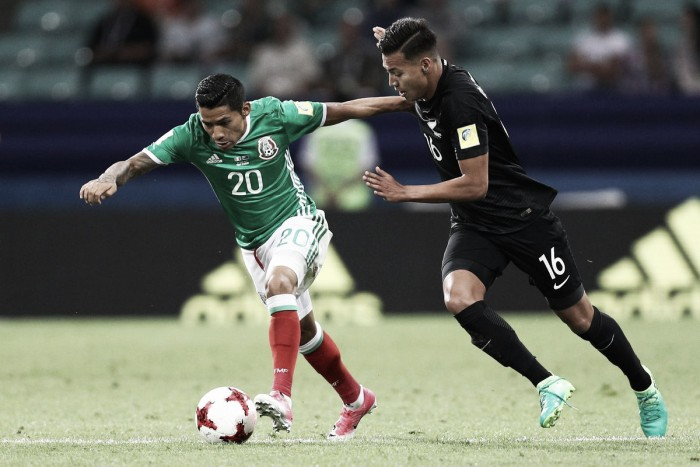 Confederations Cup: Mexico wins ugly match against New Zealand