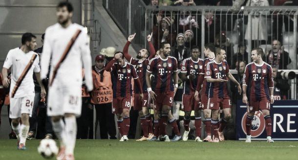 Encore une classe d'écart entre le Bayern et la Roma