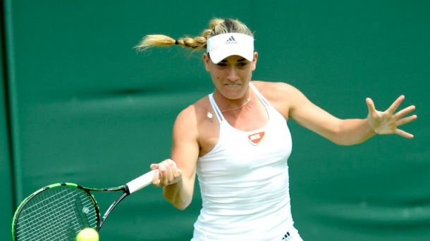 Wimbledon: Babos Takes Out Cetkovska In Straight Sets