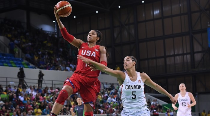 Rio 2016 - Basket femminile: ultima giornata del Gruppo B