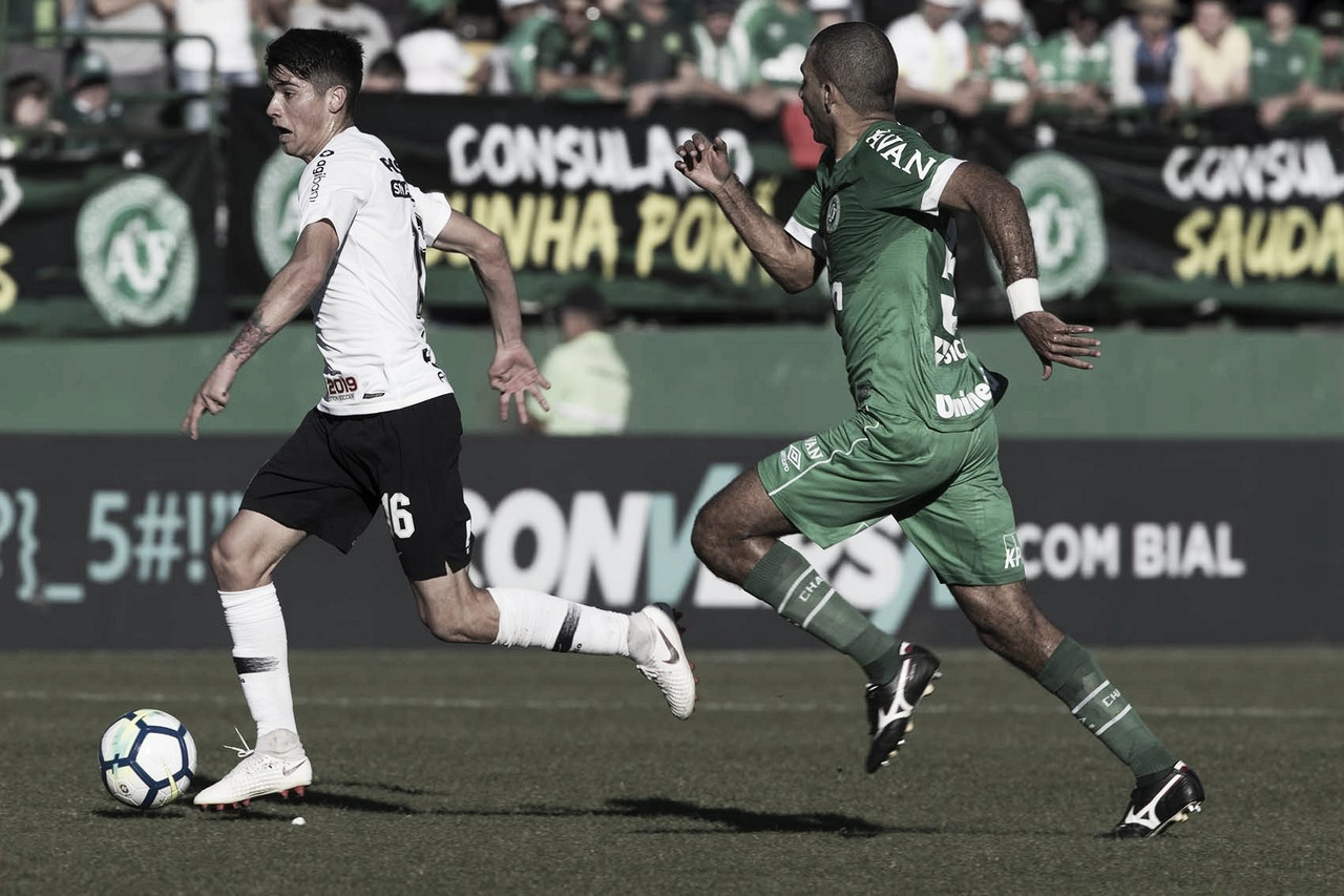 Resultado Chapecoense x Corinthians AO VIVO hoje (1-0)