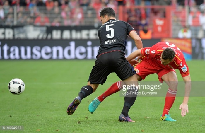 1. FC Union Berlin 0-1 Fortuna Düsseldorf: Bebou strike moves Fortuna up to third
