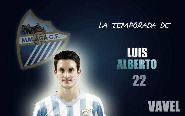 Málaga 2014/2015:la temporada de Luis Alberto