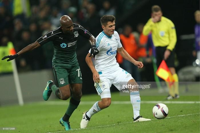 FC Schalke 04 vs FC Krasnodar Preview: Two in-form sides prepare for top of the group clash at Veltins-Arena