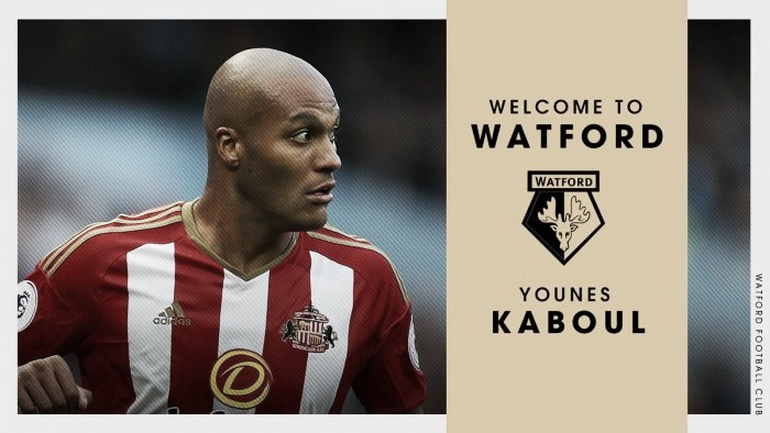 Hornets capture defender Younes Kaboul from Sunderland