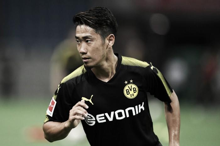 Kagawa estende contrato com Borussia Dortmundaté 2020