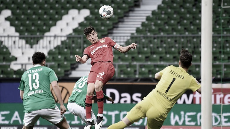 "Kai Havertz, versátil ""falso 9"" que interessa ao Real Madrid"