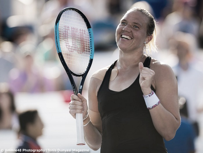 US Open: Kaia Kanepi shocks Daria Kasatkina to progress to the quarterfinals