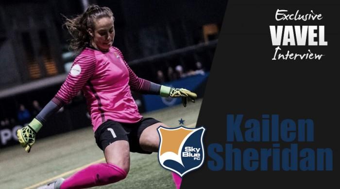 VAVEL USA Exclusive: KailenSheridan talks similarities between Sky Blue FC and Canadian Women's national team