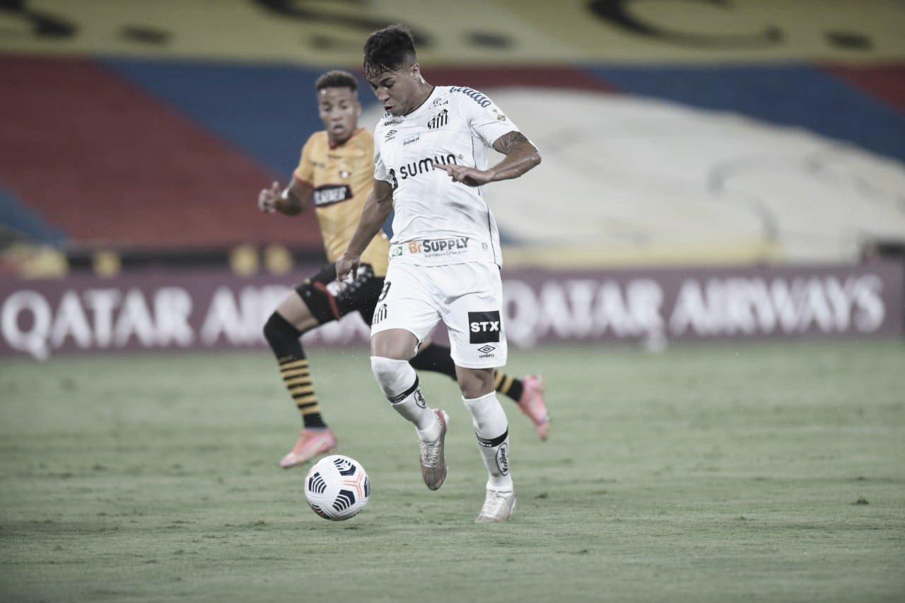 Santos é derrotado pelo Barcelona-EQU e dá tchau à Libertadores