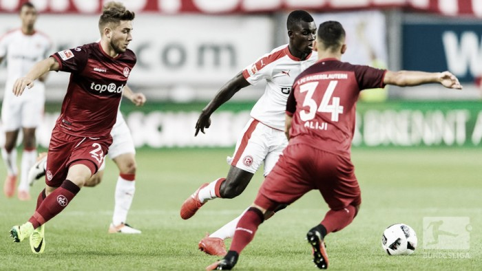 1. FC Kaiserslautern 0-0 Fortuna Düsseldorf: Spoils shared as a whole host of chances are missed