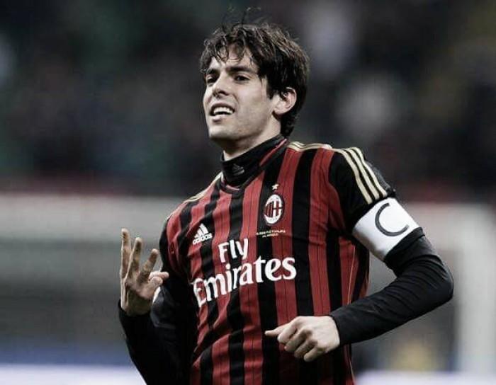 "Kaká lamenta fase do Milan, mas ressalta: ""Voltará ao topo do mundo em breve''"