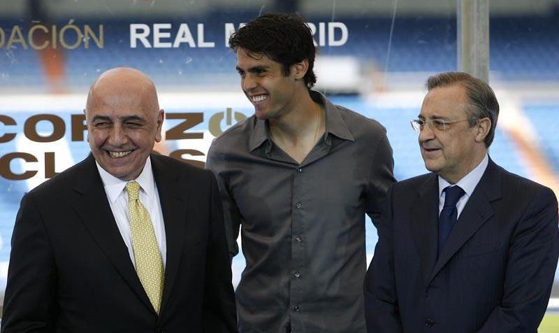 Galliani no ve viable la vuelta de Kaká al Milan