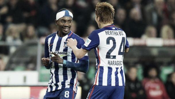 Triplo Kalou, l'Hertha stende l'Hannover e vola