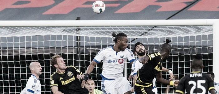 Eight-goal thriller sees Columbus Crew SC, Montreal Impact draw 4-4