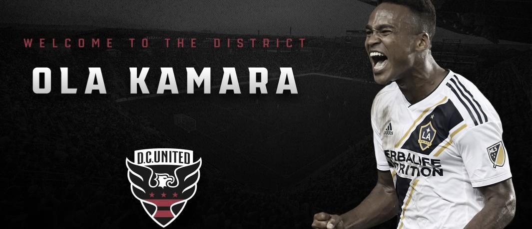 Ola Kamara ya forma parte de la plantilla de United D.C.