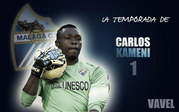 Málaga 2014/2015: la temporada de Carlos Kameni