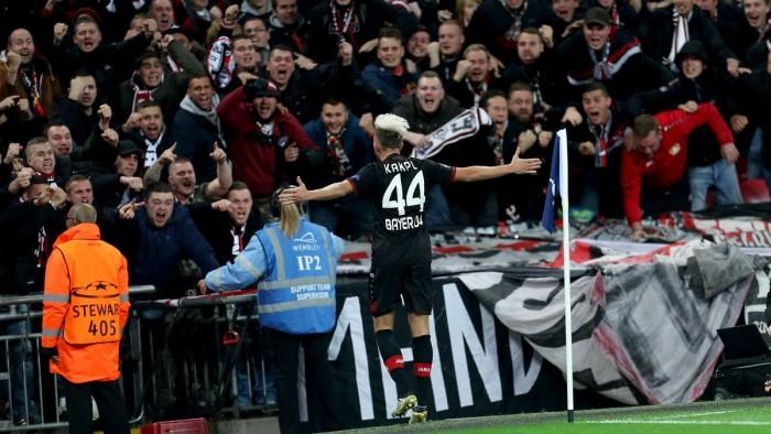 Champions League - Per il Tottenham il Wembley è un tabù: passa il Leverkusen (0-1)
