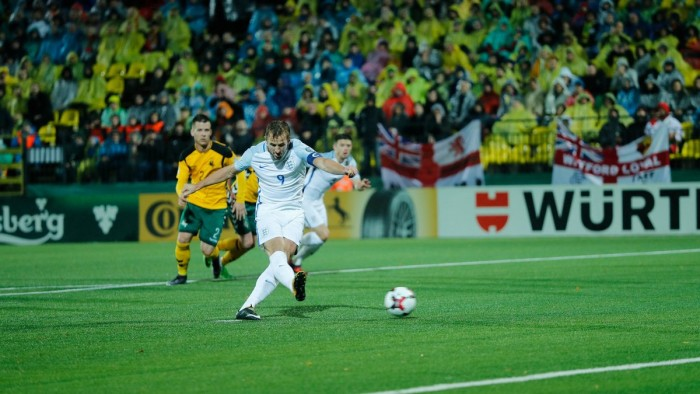 Qualificazioni Russia 2018 - Segna sempre Kane, l'Inghilterra vince anche in Lituania (0-1)
