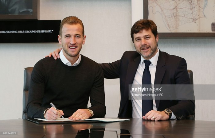 Harry Kane signs new six-year deal at Tottenham Hotspur