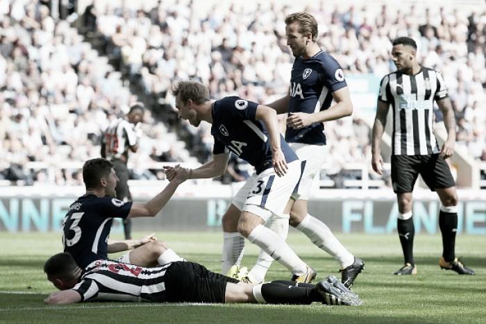 Eriksen tem dia inspirado na criação e Tottenham bate Newcastle na Premier League