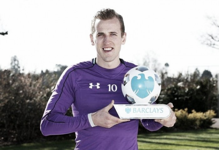 Harry Kane named as March's Premier League Player of the Month