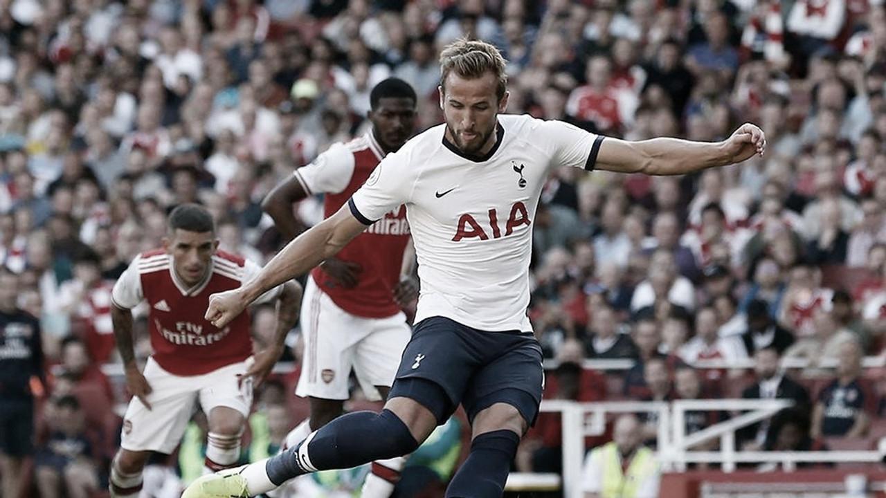 Harry Kane, rey de los derbis entre Arsenal y Tottenham