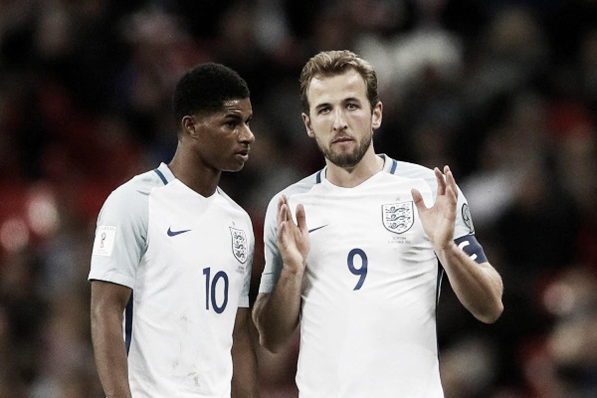 Inglaterra 2018: Kane y Rashford, el capitán y el futuro