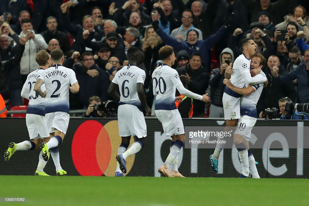 Tottenham Hotspur 2-1 PSV Eindhoven: Harry Kane keeps Spurs alive with late heroics
