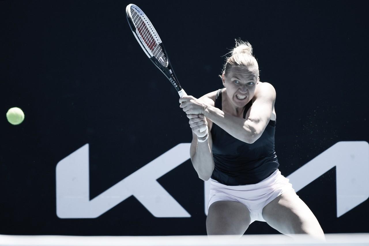 Atual campeã, Kenin cai para Kanepi na segunda rodada do Australian Open