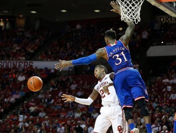 Kansas Holds Off Oklahoma Again, Tops Sooners 76-72
