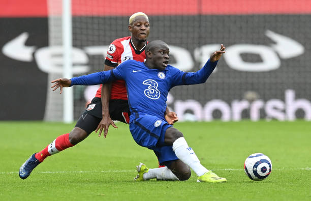 Chelsea held by Saints in a 1-1 draw which ends Blues PL win streak