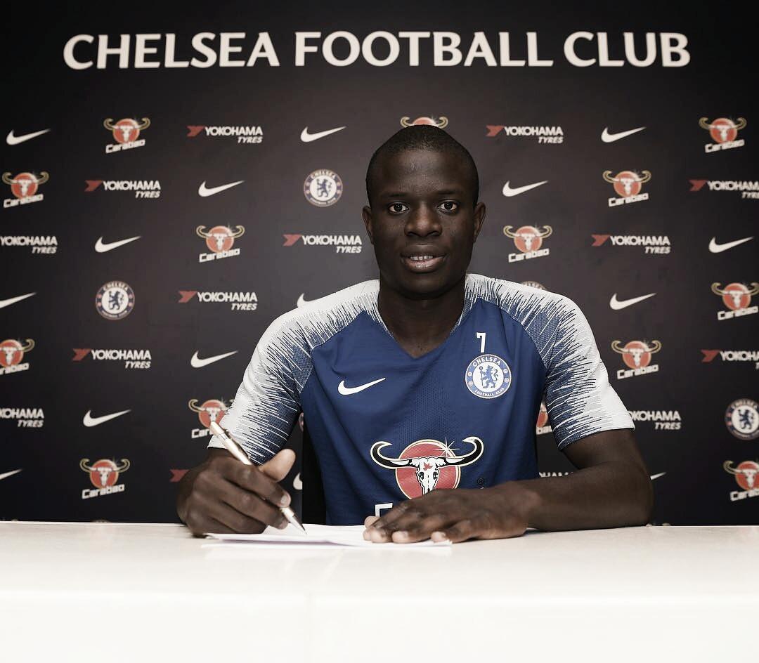 Kanté renova com o Chelsea até 2023 e se torna o jogador mais bem pago do clube
