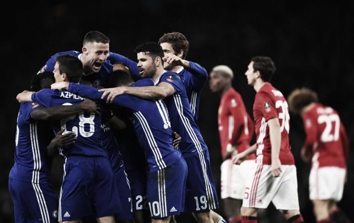 FA Cup - Kante abbatte Mourinho, il Chelsea vola in semifinale