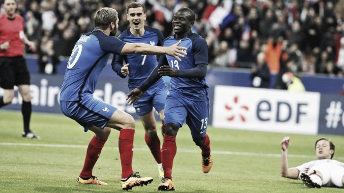 Analysis: Will Kante fit into France's best formation?