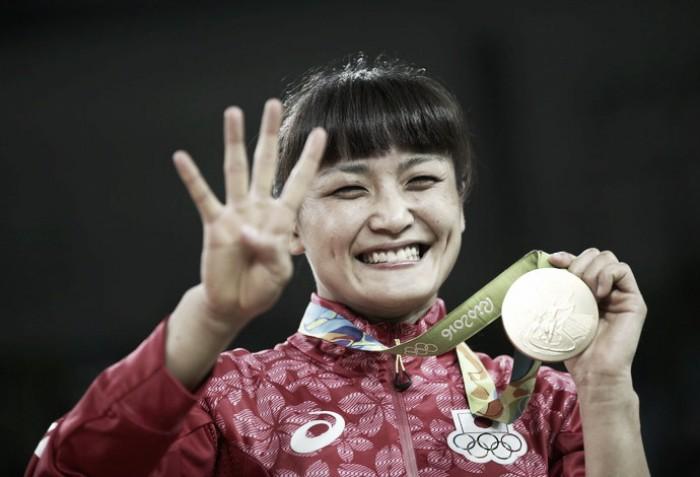 Kaori Icho ganha quarta medalha olímpica e bate recorde na luta olímpica