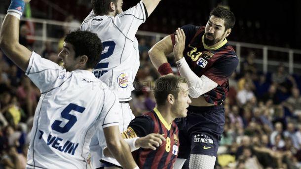 ABANCA Ademar León - FC Barcelona: prueba para la Copa ASOBAL