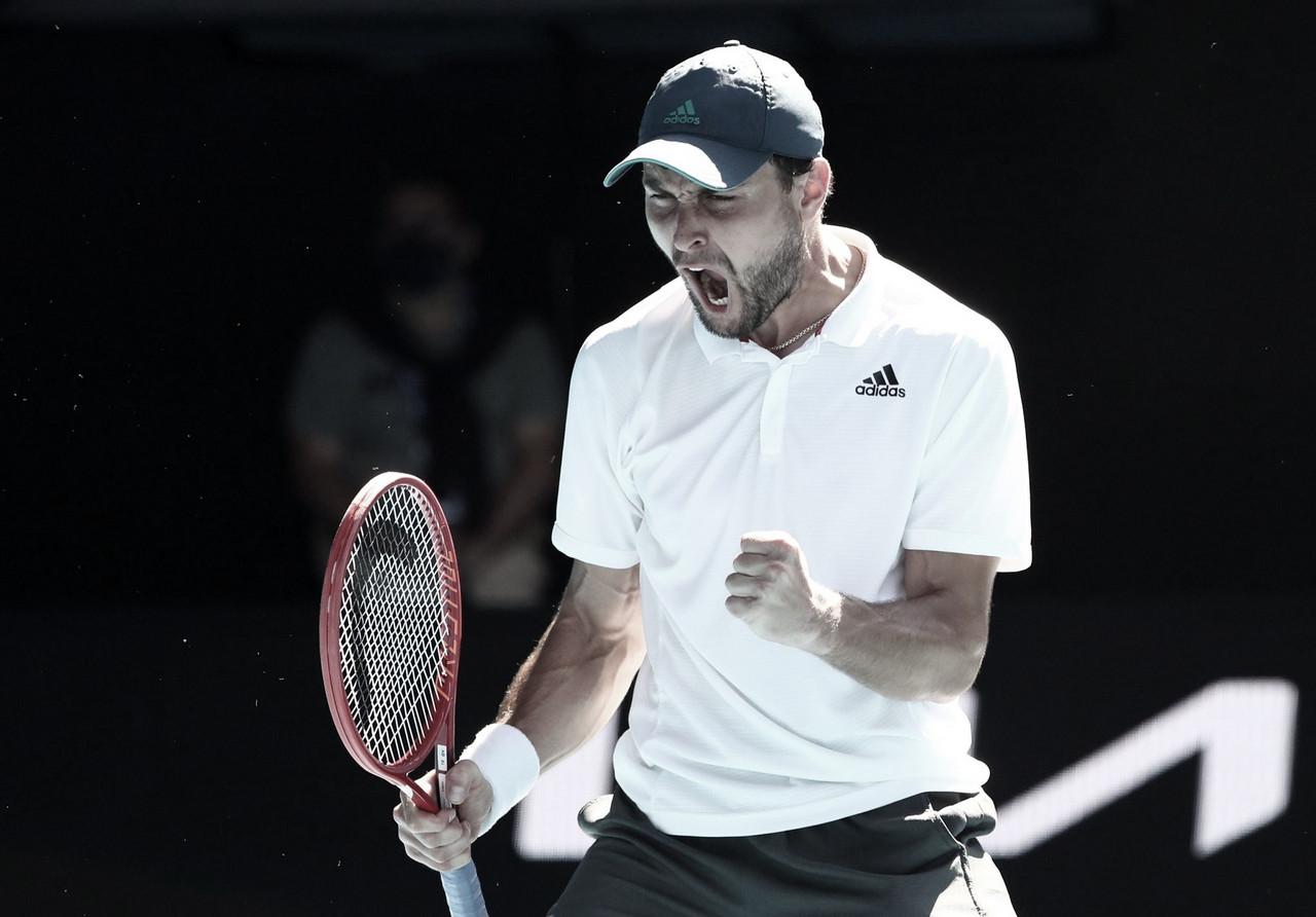 Australian Open. Día 9: Karatsev sigue dando que hablar