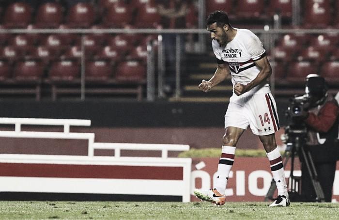 Kardec ressurge e São Paulo vence Fluminense em jogo marcado por lesão de Ganso
