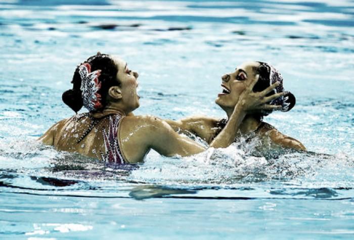 Pareja de nado sincronizado competirá en Abierto de Alemania