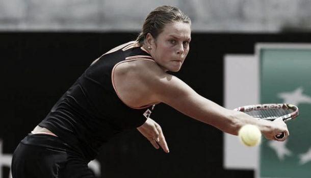 WTA Roma: la Knapp sfiora l'impresa, fuori anche la Errani