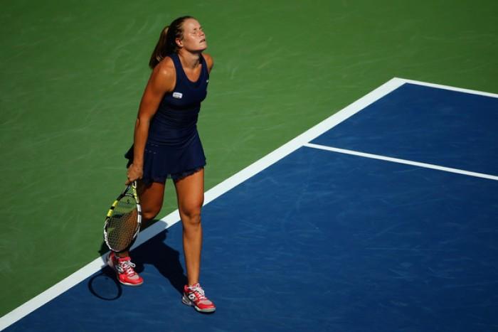 WTA Katowice: la Knapp lotta, ma si arrende alla Broady