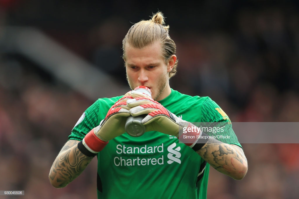 Liverpool goalkeeper Loris Karius: 'first-half performance cost us'
