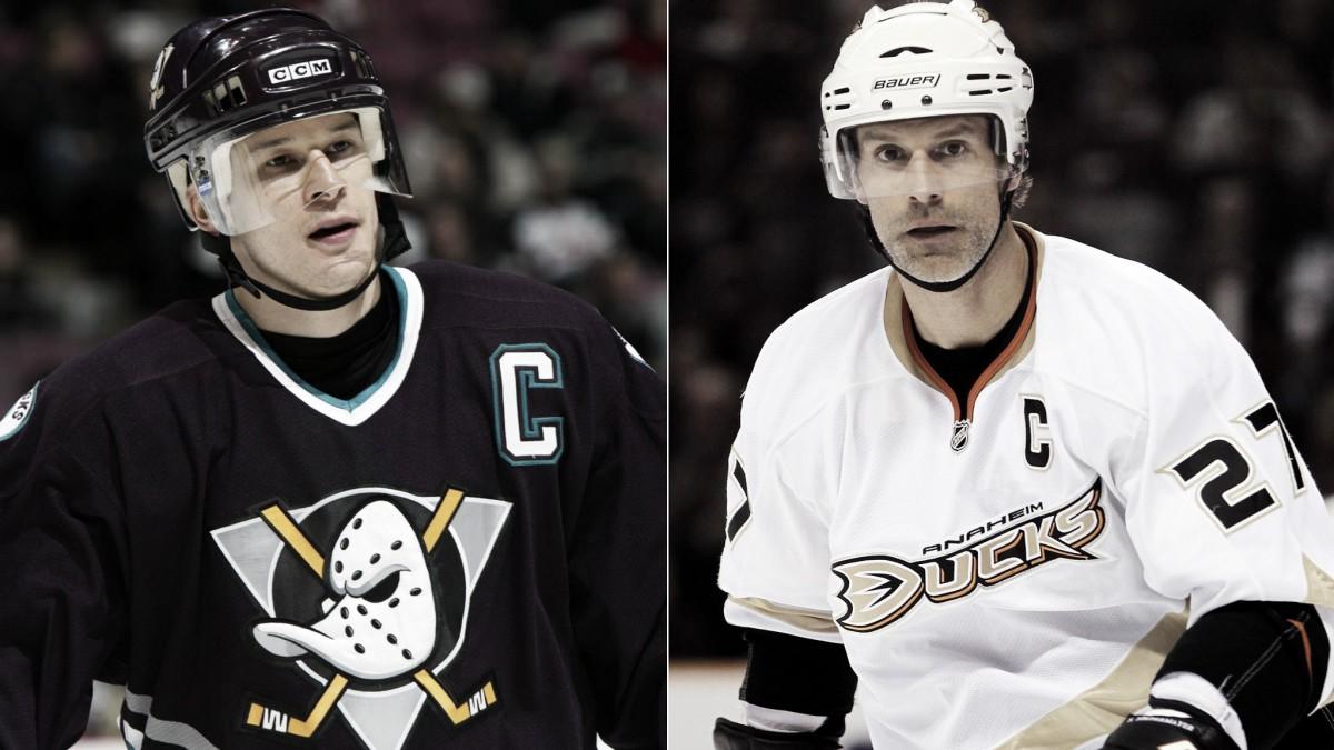 Los números de Paul Kariya y Scott Niedermayer serán retirados por los Anaheim Ducks