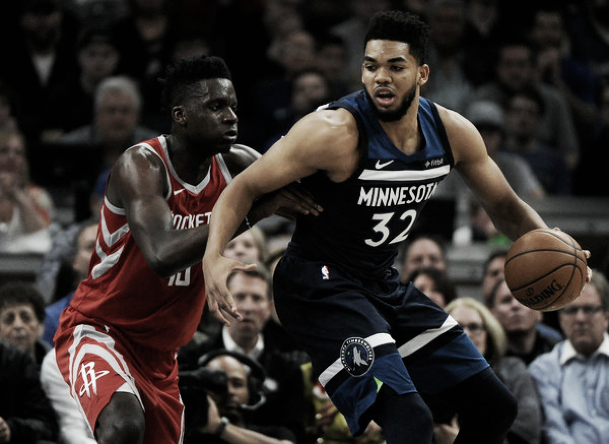 Minnesota Timberwolves and center Karl-Anthony Towns working towards contract extension