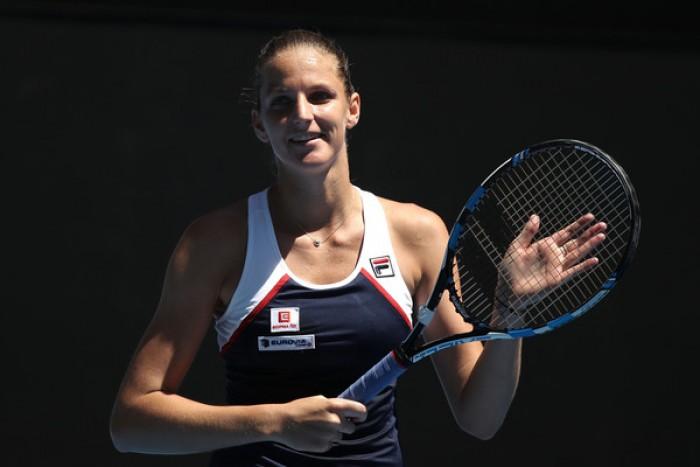 Australian Open 2017 - Si ritira Sara Errani, avanzano Konta, Ka.Pliskova, Wozniacki e Cibulkova
