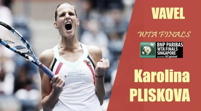 WTA Finals 2017. Karolina Pliskova: en busca de la corona en Singapur