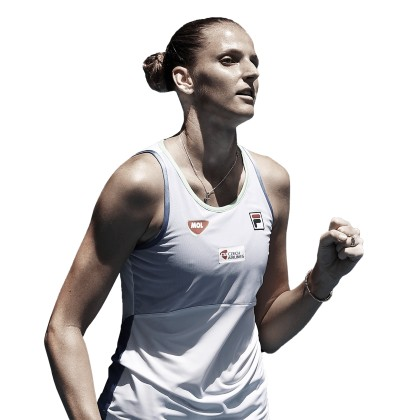 Karolina Pliskova, a falta de un Grand Slam